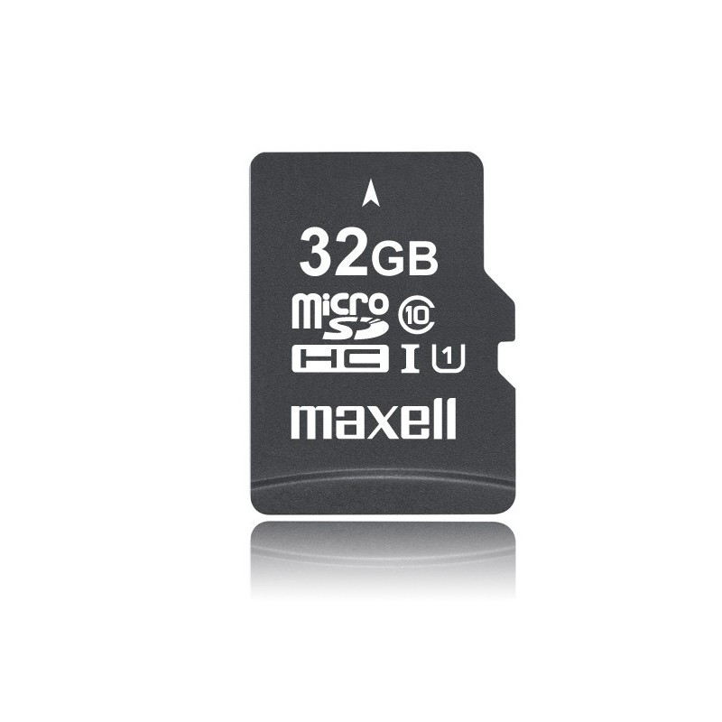 tarjeta micro sd 32 gb con adaptador maxell. Black Bedroom Furniture Sets. Home Design Ideas