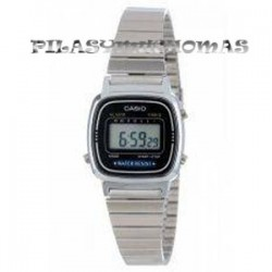 RELOJ CASIO DIGITAL SEÑORA LA670WA-2DF