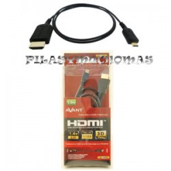 CABLE MICRO HDMI AVANT 1.5M. VERSION 1.4