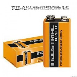 PILA DURACELL INDUSTRIAL  9V CAJA 10 UNDS