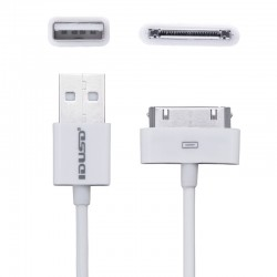 CABLE DE DATOS Y CARGA PARA IPHONE 3GS/Iphone 4