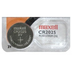 PILA DE BOTON  LITIO CR2025 MAXELL