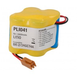 Pack Litio BR-2/3AGCT4A 6V/2800mAh