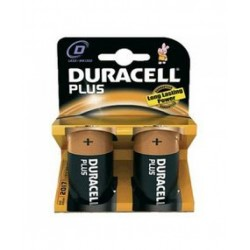 PILA LR20  D MN1300 DURACELL PLUS POWER