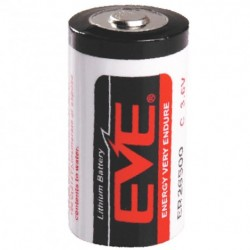 PILA DE LITIO EVE  ER26500  3.6V 8500mAh