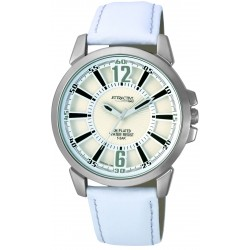 RELOJ Q&Q ATTRACTIVE ANALOGICO CABALLERO BLANCO